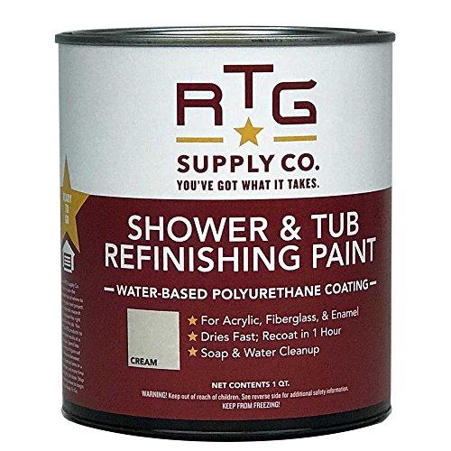 RTG Supply Co. Shower & Tub Refinishing Paint (Cream)