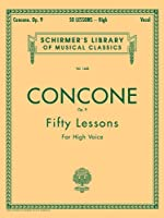 G. Concone Op. 9: Fifty Lessons for the Voice