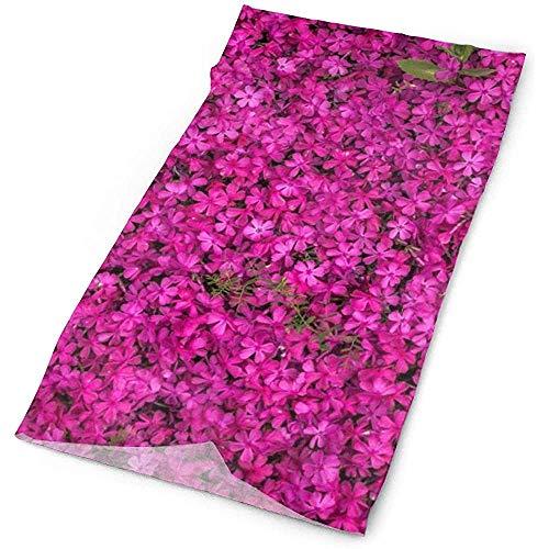 Fleurs rouges Bloom Bright Headwrap Unisexe Multifonction Couvre-chef Polyester À Séchage Rapide Doux Bandeau Écharpe De Cou, Coiffure Premium