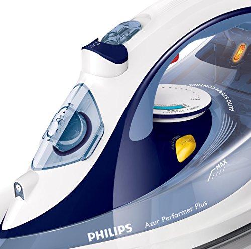 Philips Azur Performer Plus GC4516/20 – Plancha de vapor, 2400W,