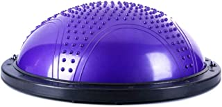 GLJJQMY Yoga Ball Balance Hemisphere Fitness Pilates Ball 3 Colors Optional Massage Balance Ball (Color : C)