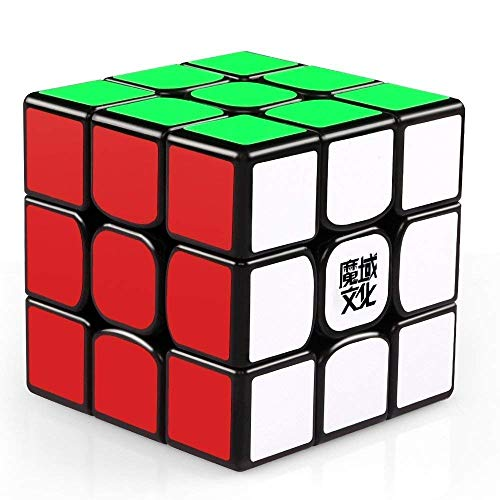 MoYu Cube 3x3 Weilong GTS2 M (Magnetic Version) by Yukub - Negro