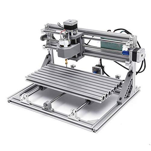 Máquina De Grabado CNC3 Ejes Mini DIY CNC Router Módulo Láser Fresado Máquina Grabadora Corte De Grabado De MaderaMáquina CNCFresadoMadera PVC