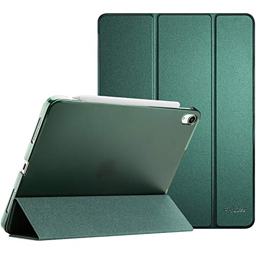ProCase iPad Air 4 Case 10.9 Inch 2020 iPad Air 4th Generation Case A2316 A2324 A2325 A2072, Slim Stand Hard Back Shell Protective Smart Cover Cases for iPad Air 10.9' 4th Gen 2020 -Midnight Green