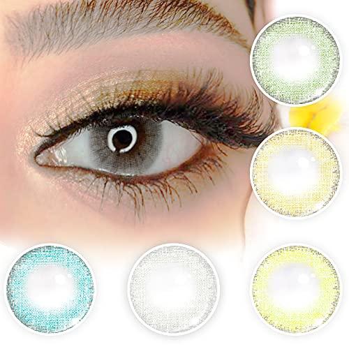 Julia lenses Kontaktlinsen augen linsen kontakt lens farbig Jährliche linsen Julia lenses colour eye lens lenses yearlly contact lens (Icy Grey)
