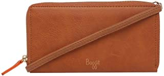 Baggit Women's Wallet (Caramel-Orange)