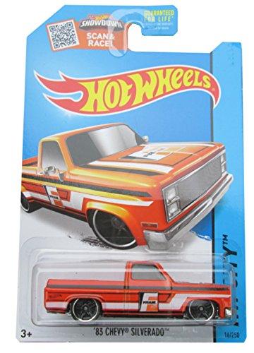 Hot Wheels Mattel 16/250 '83 Chevy Silverado Fram Truck