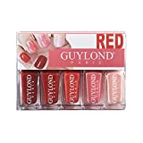 guylond Red grados ation Nail Varnish Set, 1er Pack (1x 20ml)