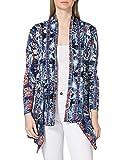 Desigual JERS_Santorini Cardigan Jersey, Azul, M para Mujer