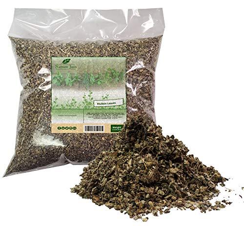 Mullein Leaf Cut & Sifted 1/2 Pound Bulk Bag-Velvet Dock or Velvet Plant aka...