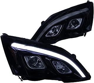 Spec-D Tuning 2LHP-CRV07G-TM Black Projector Headlight (Glossy)