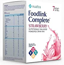Nualtra Foodlink Complete Powder Strawberry with Fibre 7 x 63g Estimated Price : £ 12,48