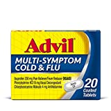 Advil Respiratory MultiSymptom Cold And Flu, 200 mg Ibuprofen, White, 20 Count