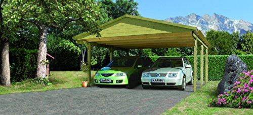 Unbekannt Karibu Classic Carport 1 Satteldach Doppel kdi