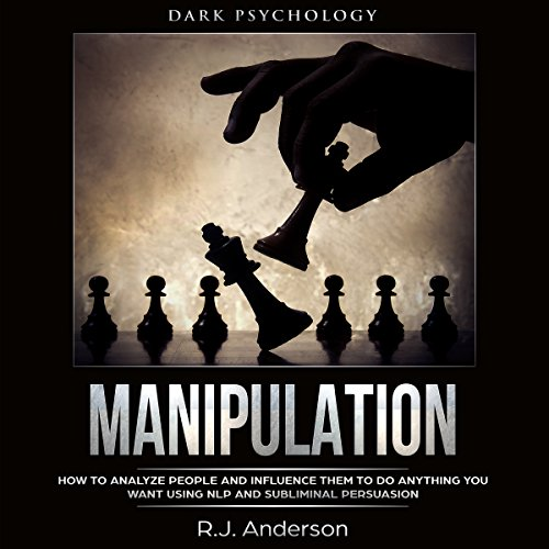 Manipulation: Dark Psychology audiobook cover art