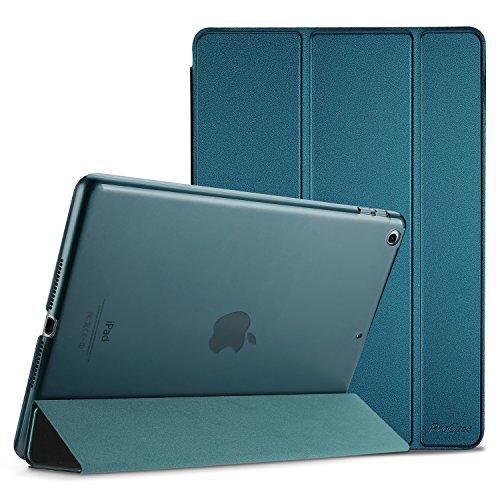 ProHülle iPad 9.7 Hülle 2018 iPad 6 Generation /2017 iPad 5 Generation Tasche - Äußerst Schlank Leichtgewicht Ständer mit Transluzent Matt Rückseite Intelligente Hülle für Apple iPad 9.7 Zoll –Teal