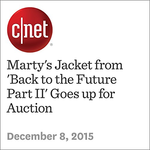 Marty's Jacket from 'Back to the Future Part II' Goes up for Auction audiobook cover art