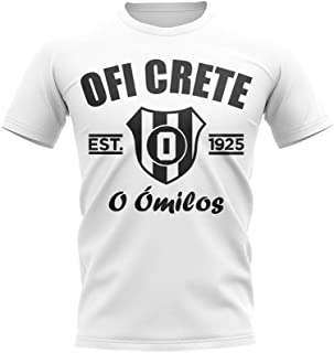 Airosportswear OFI Crete Established Football T-Shirt (White)