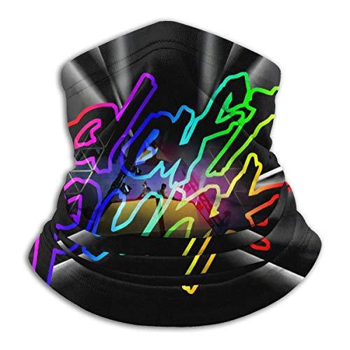 Chenjiaj Daft-Punk Unisex Outdoor Multifunktional Sport Face Mas-k Mikrofaser Neck Gaiter Warmer Schal Bandanas
