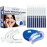 Teeth Whitening Kit,Tooth Whitening Gel,Teeth Whitening Gels Kit Set with Led Light...