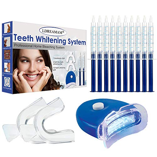 Kit Blanchiment Dentaire,Gel Blanchiment Dentaire, Kit Blanchiment Dents,Kit Dentaire, Gel de blanchiment des dents Professionnel Réutilisable Kit Dents Soins Dentaires à Domicile