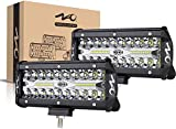 naoevo 7inch LED Light Bar,...