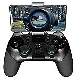 Phil Beauty Controlador Inalámbrico De Juegos Bluetooth PG-9156 Controlador De Juego De Conexión 2.4G Admite Diferentes Teléfonos del Sistema 160 ° Ajustable Soporte Telescópico