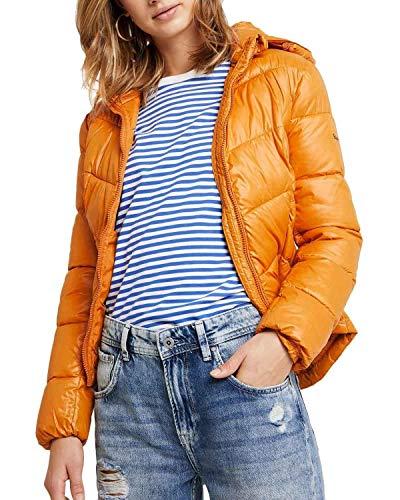 Pepe Jeans Cazadora Imani Mostaza Mujer Small Amarillo