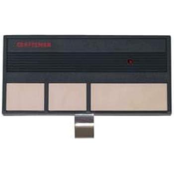 Craftsman Sears Remote Garage Door Opener 53778 Garage Door Remote Controls Amazon Com