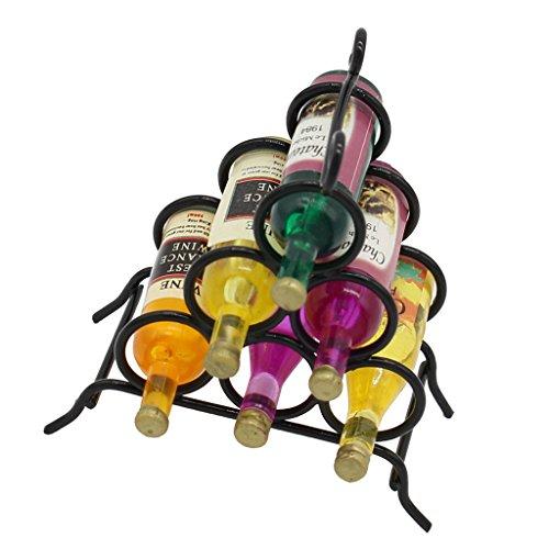 freneci Metal 1:12 Escala Casa de Muñecas Muebles en Miniatura Comedor Vino Y Decoración de Estante