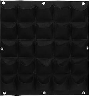 comprar comparacion Panel con varios bolsillos para jardín vertical, montaje en pared, de fieltro, para plantas de interiores y exterio...