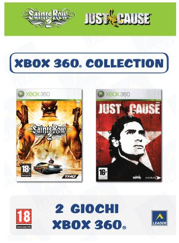 Xbox 360 Coll. - Saints Row 2 + Just Cause X360 [Importación italiana]