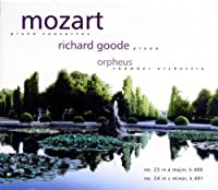 Mozart: Piano Concertos 23 & 24 by Richard Goode (1999-10-19)