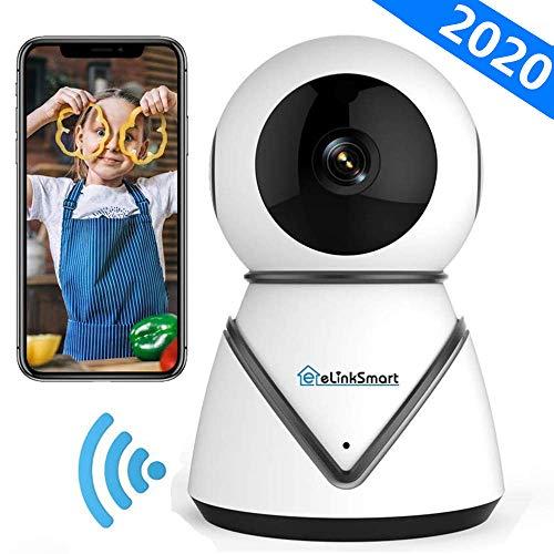 eLinkSmart WiFi IP Camera Security Camera Pan Tilt Zoom Indoor Surveillance Camera met 720P HD Night Vision Motion Detection Two-Way Audio Support Active Call