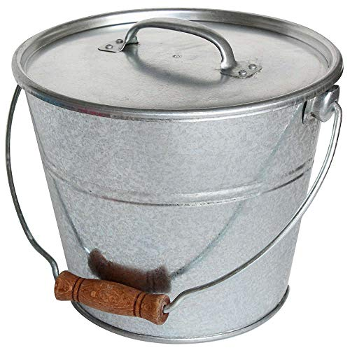 GUILLOUARD Seau avec Couvercle pour Cendres granulés ou Compost