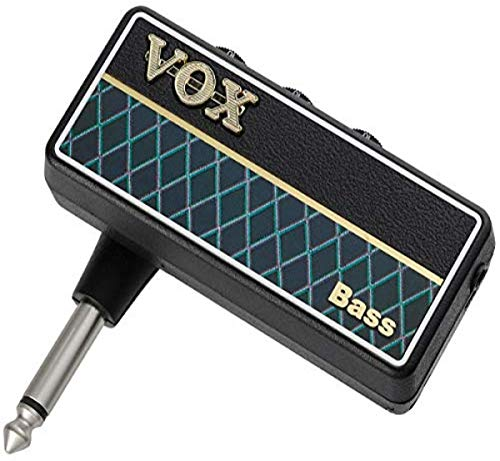VOX amPlug 2 Guitar Headphone Amplifier, black