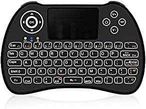 ACEMAX H9 2.4G Wireless Backlit Backlight Mini Keyboard Mouse Combo for Android TV Box HTPC IPTV Laptop Raspberry PI PS3 PAD Tablets Windows and More Devices