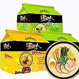量贩装 爆款口味组合 統一湯達Tang da ren(统一汤达人 方便面组合 15包 Instant noodles)拉面包邮中国直邮 日期新鲜 海外华人的泡麵 Chinese Ltd