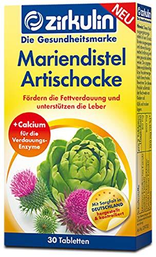 Zirkulin Mariendistel Artischocke | fördert die Fettverdauung und unterstützen die Leber