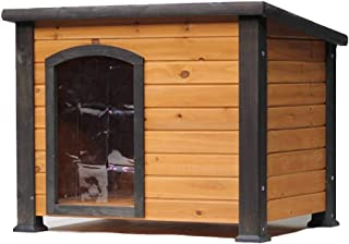 Crates & Kennels Large and Medium Kennel Pet Dog House Outdoor Cat House Cold-Proof Warm Rabbit Hole Thick Animal Shelter