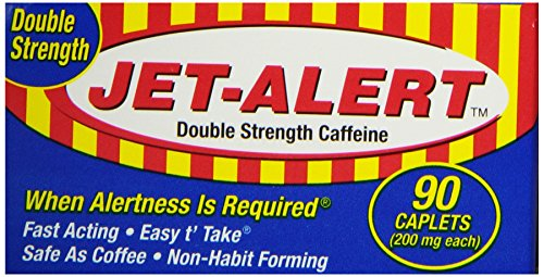 Jet-Alert Double Strength, 90 caplets