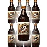 A&W Root Beer, 20 Fl Oz Bottle, (Pack of 8, Total of 160 Fl Oz)