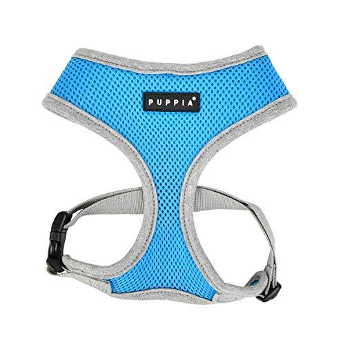 Puppia Soft Harness II Hellblau L Hundegeschirr - 70 g