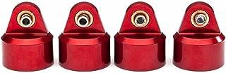 Traxxas 8964R Shock Caps, Aluminum (Red-Anodized), GT-Maxx Shocks (4)