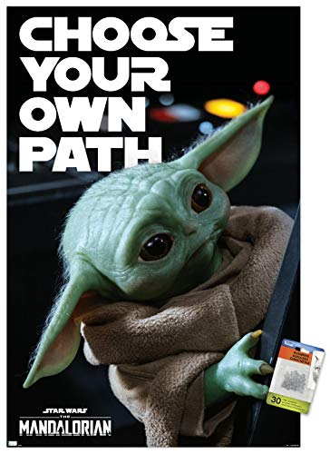 Star Wars: The Mandalorian Season 2 - Choose Your Own Path Wall Poster with Pushpins