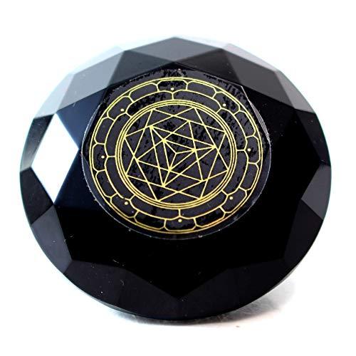 Tachyonen Diamant Akasha Merkaba schwarz 45 Energie Heilige Geometrie