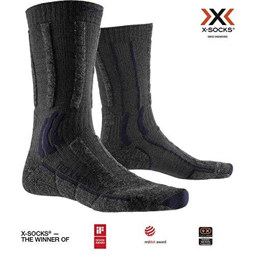 X-Socks Trek X Merino Light Socks, Unisex Adulto, Anthracite