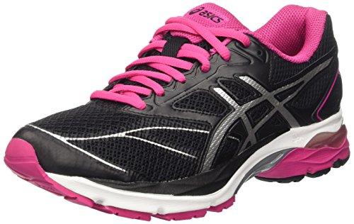 ASICS Gel-Pulse 8 T6e6n-9093, Scarpe da Corsa Donna, Multicolore (Black/Silver/Sport Pink), 37 EU