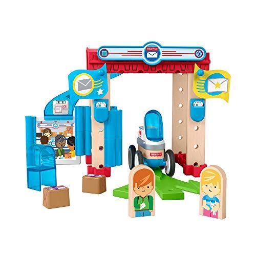 Fisher-price Wonder Makers Coffret de Construction Le Centre de Livraison Spécial, Jouet pour Enfant Dès 3 Ans, Gfj14