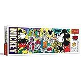 Trefl TR29511 - Puzzle panorámico (500 Piezas), diseño de Mickey Mouse